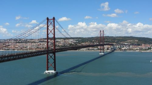 bridge lisbon suspension bridge