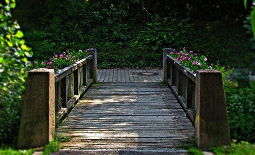 bridge building wooden