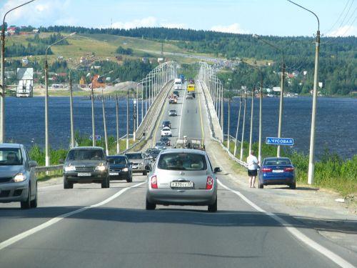 bridge road machinery