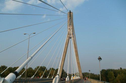 bridge warsaw architecture