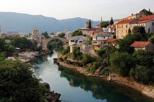 bridge mostar river