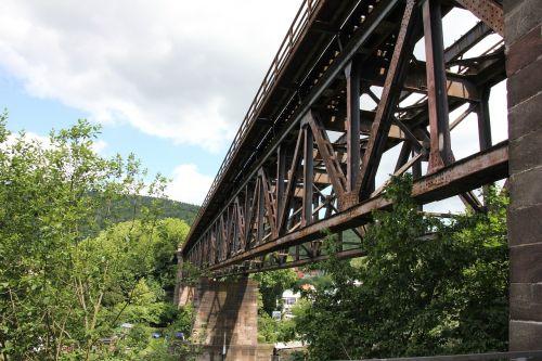 bridge railway railway bridge