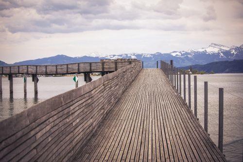 bridge alpine switzerland