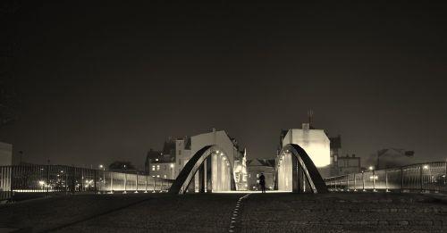bridge evening monuments