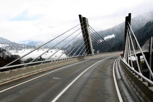 bridge high asphalt