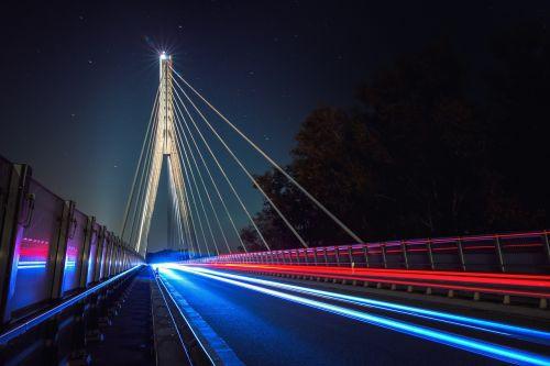 bridge night architecture