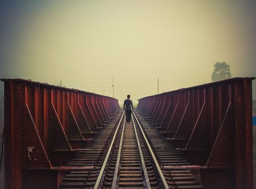 bridge alone boy boy