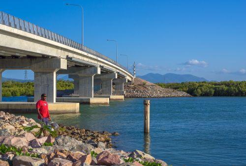 bridge townsville port access overpass bridge