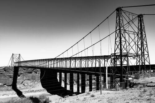 bridge bridges metal frame