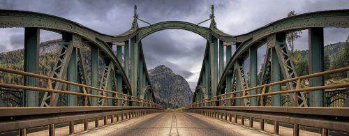 bridge mountains road