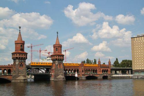 bridge oberbaumbrücke river