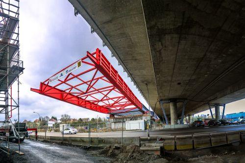 bridge new building highway bridge
