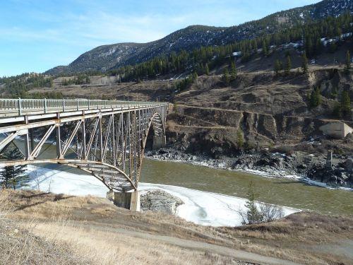 bridge metal construction overpass