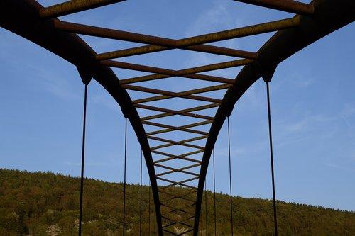 bridge  arch  blue sky