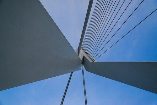 bridge  erasmus  rotterdam