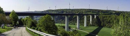 bridge  highway  hiking
