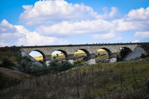 bridge  nature  road