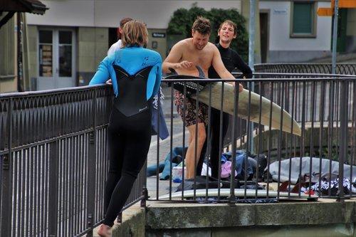 bridge  surfing  water sports