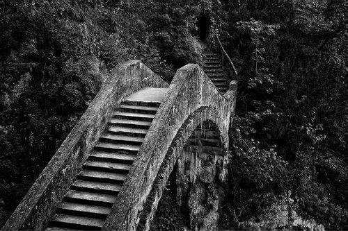 tiltas, Rokas, slėnis, prarado vietą, vaiduokliškos, keistai, metai, architektūra, arka, dunojus slėnis, Velnio tiltas, magija, fonas, miesto, laiptų, tarpeklis, palaipsniui