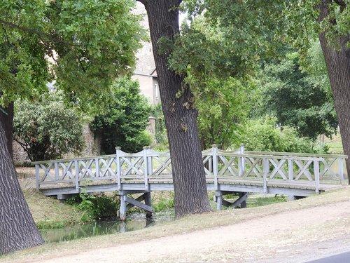bridge  footbridge  water