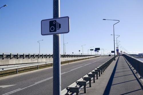 bridge street lamp speed camera