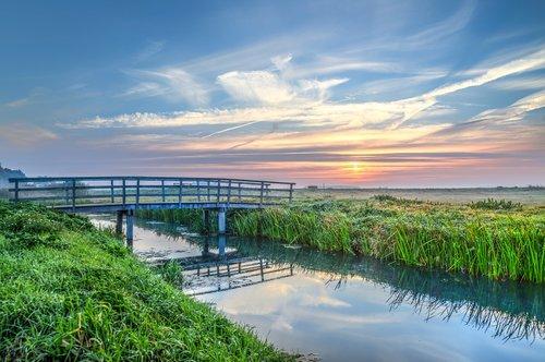 bridge  waterway  canal