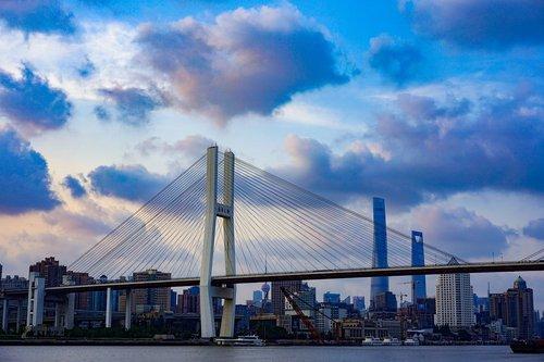 bridge  shanghai  china