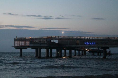 bridge twilight dusk