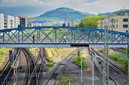 bridge  pedestrian bridge  landscape
