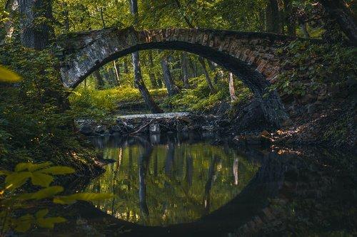 bridge  river  bobrava