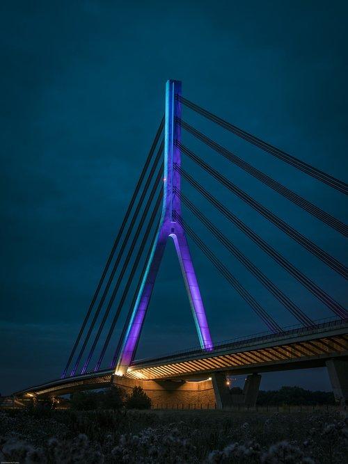 bridge  wesel  architecture
