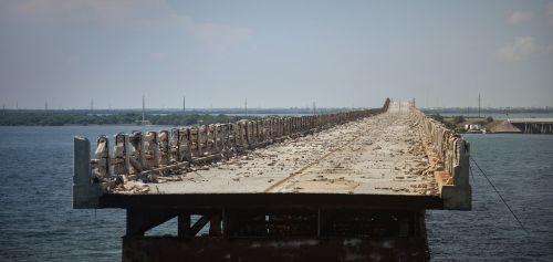 bridge destroyed leave