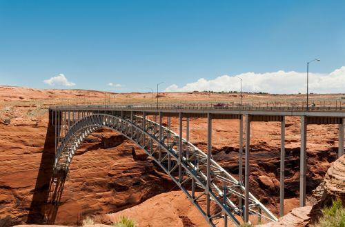 bridge glen canyon modern constraction