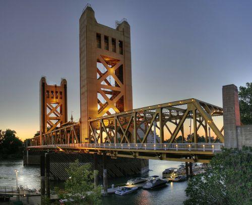 bridge river tower bridge