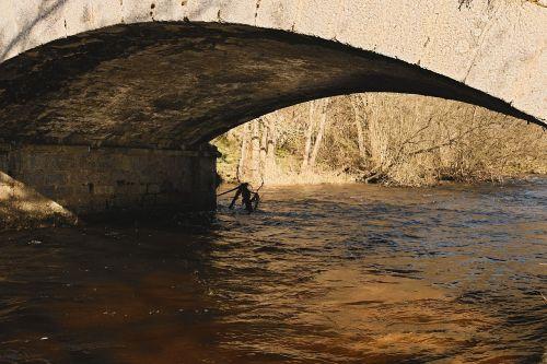 bridge river water