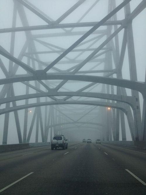 bridge fog driving