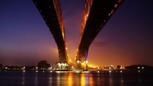 bridge bridge over water highway