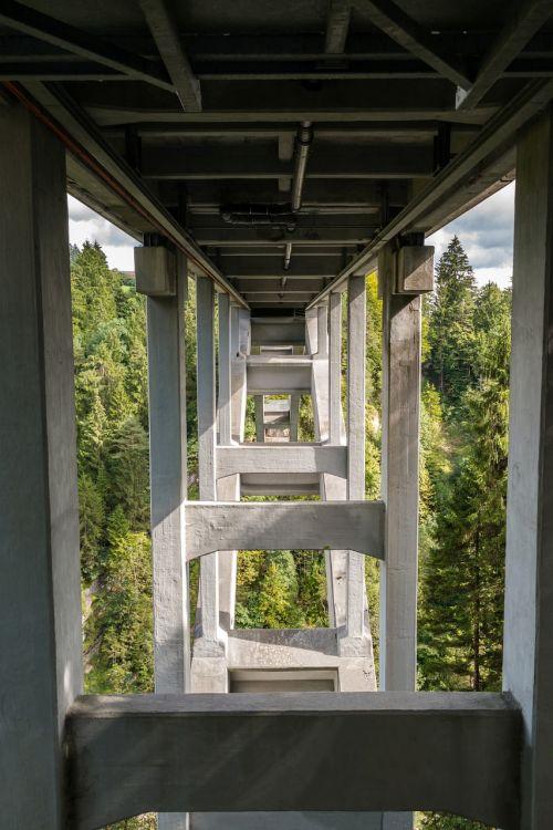 bridge gorge echelsbacher bridge