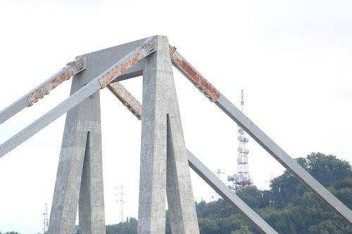 bridge morandi  genoa  collapse