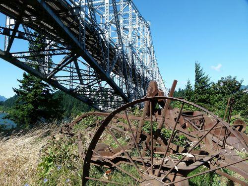 bridge of the god building iron