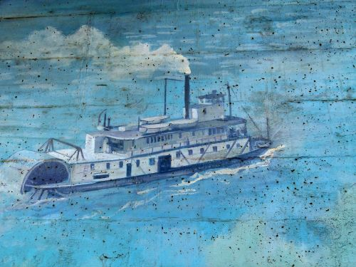 bridge pier wall painting artwork