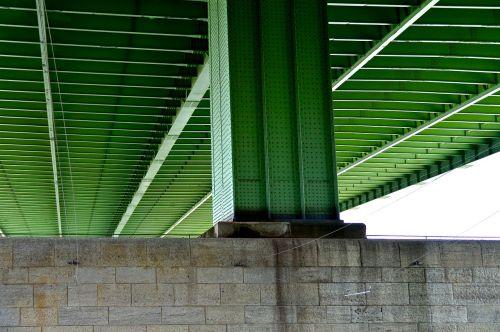 bridge piers highway bridge steel beams