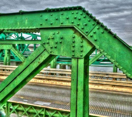 tiltas, tiltai, struktūra, metalas, fondas, žalias, uždaryti & nbsp, inžinerija, tilto struktūra