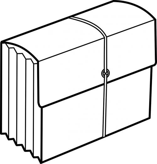 briefcase folder portfolio