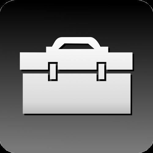 briefcase toolbox box