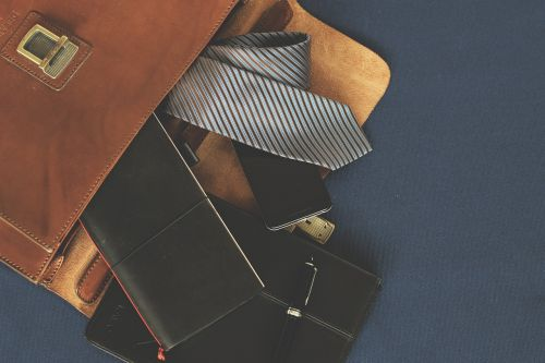 briefcase leather goods accessories