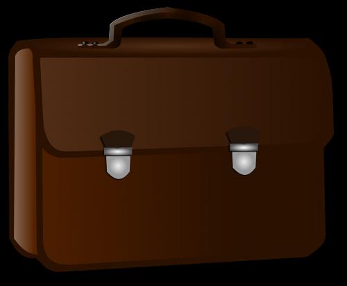 briefcase business brown
