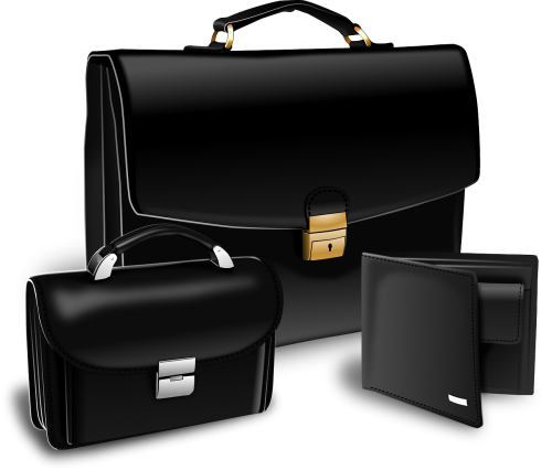 briefcase purse suitcase