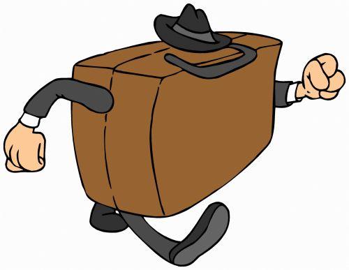 Briefcase Walking