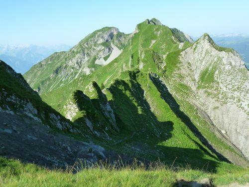 brienz red horn ridge bergtour alpine